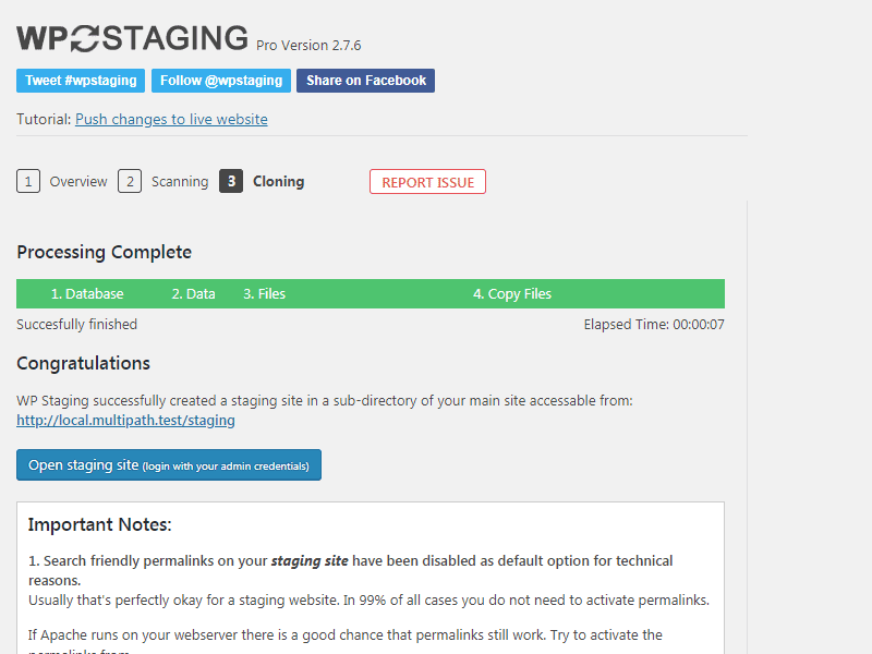 Create Staging Sites for WordPress Websites • WP STAGING