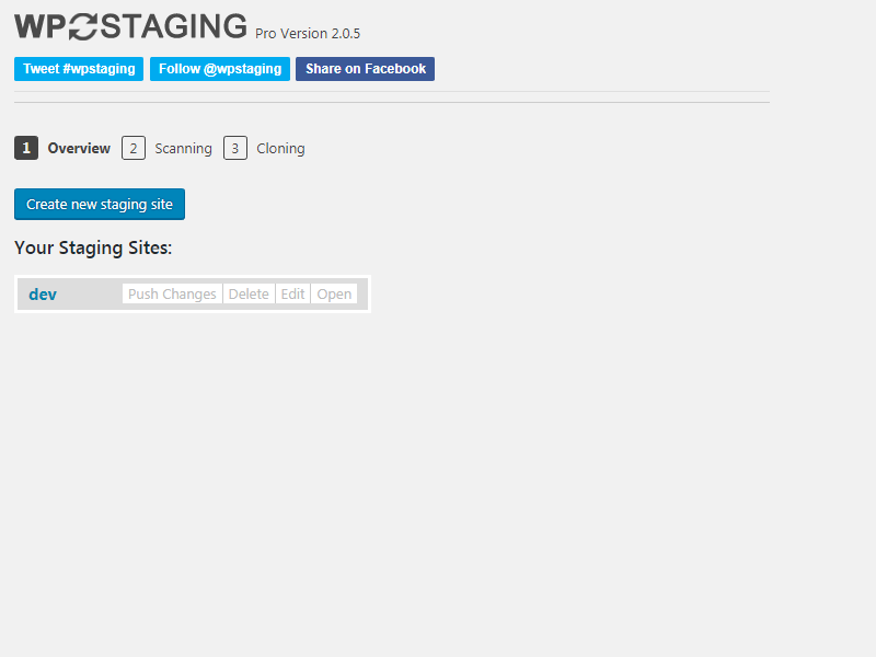 Push Changes Copy files from staging to live site