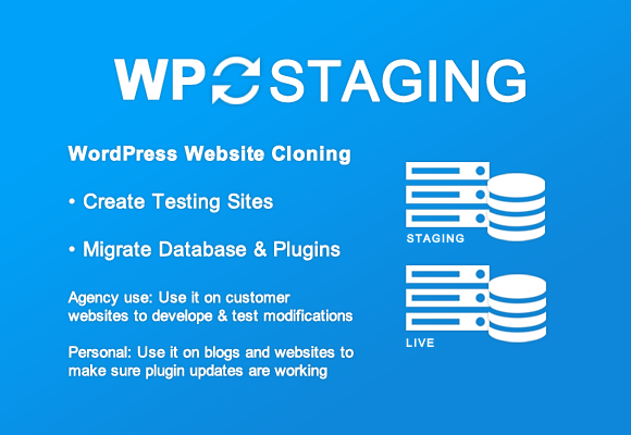 WP Staging supports search and replace of serialized Data