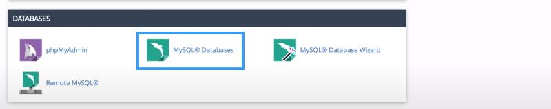 Picture: MySQL databases icon