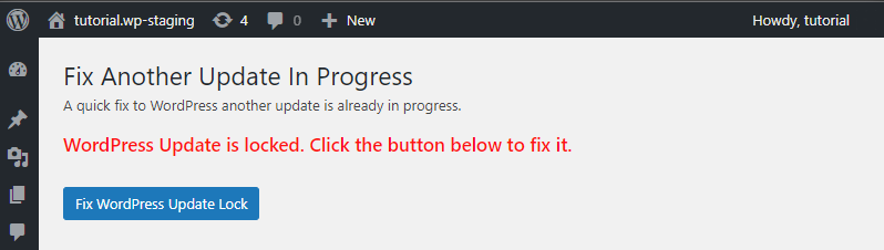 Picture: Fix another update in progress before fixing