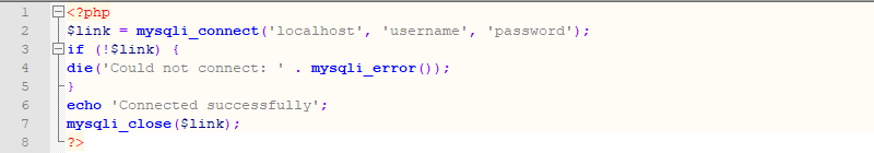 Picture: Verify the permission of the database user