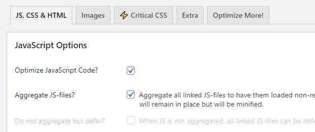 Optimize JavaScript loading times