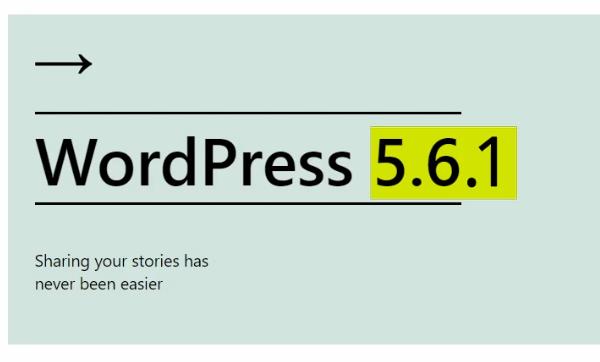 Minor WordPress Updates