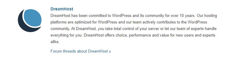 DreamHost WordPress Hosting Provider