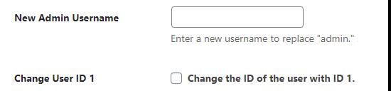 iThemes: New Admin Username