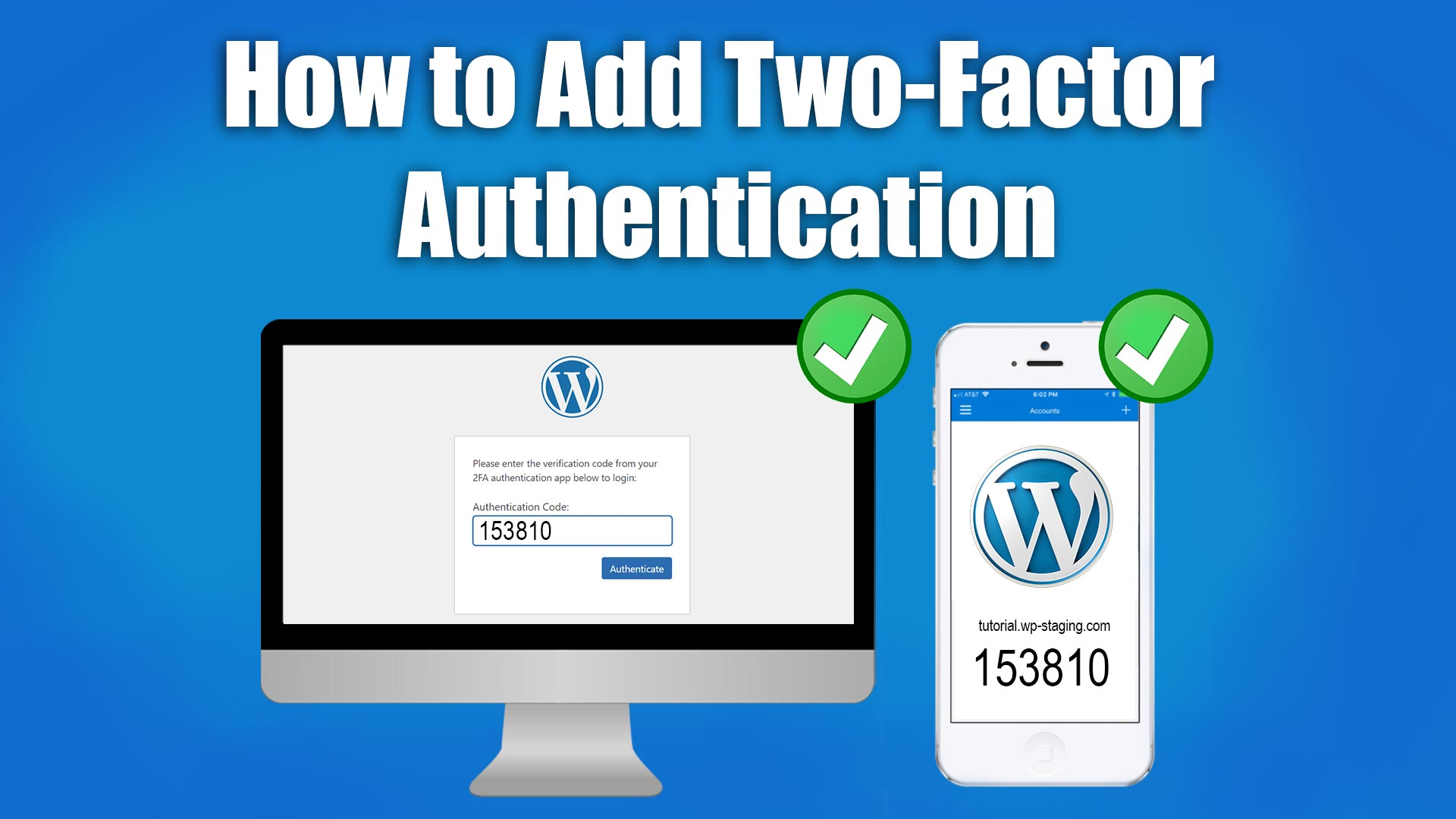Picture: Two Factor Authentication